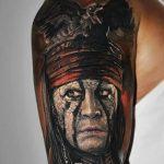фото Тату Джонни Деппа от 15.04.2018 №103 - Tattoo Johnny Depp - tattoo-photo.ru
