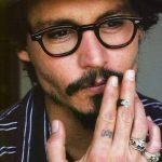 фото Тату Джонни Деппа от 15.04.2018 №104 - Tattoo Johnny Depp - tattoo-photo.ru