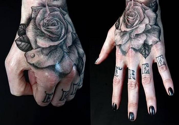 Татуировки для девушек на руке 17