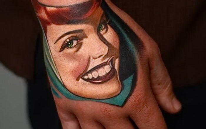 фото Тату на кисти руки от 13.04.2018 №261 - Tattoo on the hand - tattoo-photo.ru