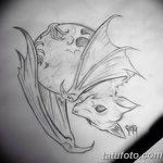 фото Эскизы тату летучая мышь от 11.04.2018 №005 - Sketches bat tattoo - tattoo-photo.ru
