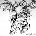 фото Эскизы тату летучая мышь от 11.04.2018 №008 - Sketches bat tattoo - tattoo-photo.ru