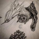 фото Эскизы тату летучая мышь от 11.04.2018 №010 - Sketches bat tattoo - tattoo-photo.ru
