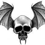 фото Эскизы тату летучая мышь от 11.04.2018 №017 - Sketches bat tattoo - tattoo-photo.ru