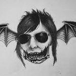 фото Эскизы тату летучая мышь от 11.04.2018 №018 - Sketches bat tattoo - tattoo-photo.ru