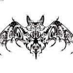 фото Эскизы тату летучая мышь от 11.04.2018 №020 - Sketches bat tattoo - tattoo-photo.ru