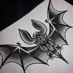 фото Эскизы тату летучая мышь от 11.04.2018 №021 - Sketches bat tattoo - tattoo-photo.ru