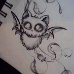 фото Эскизы тату летучая мышь от 11.04.2018 №028 - Sketches bat tattoo - tattoo-photo.ru