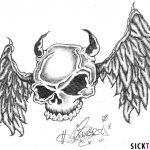 фото Эскизы тату летучая мышь от 11.04.2018 №033 - Sketches bat tattoo - tattoo-photo.ru