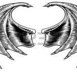 фото Эскизы тату летучая мышь от 11.04.2018 №036 - Sketches bat tattoo - tattoo-photo.ru