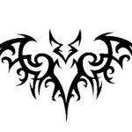 фото Эскизы тату летучая мышь от 11.04.2018 №037 - Sketches bat tattoo - tattoo-photo.ru