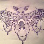 фото Эскизы тату летучая мышь от 11.04.2018 №039 - Sketches bat tattoo - tattoo-photo.ru