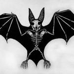 фото Эскизы тату летучая мышь от 11.04.2018 №044 - Sketches bat tattoo - tattoo-photo.ru