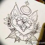 фото Эскизы тату летучая мышь от 11.04.2018 №049 - Sketches bat tattoo - tattoo-photo.ru