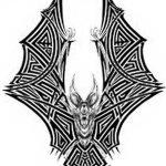 фото Эскизы тату летучая мышь от 11.04.2018 №053 - Sketches bat tattoo - tattoo-photo.ru