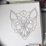 фото Эскизы тату летучая мышь от 11.04.2018 №054 - Sketches bat tattoo - tattoo-photo.ru