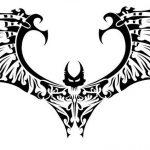 фото Эскизы тату летучая мышь от 11.04.2018 №065 - Sketches bat tattoo - tattoo-photo.ru