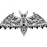 фото Эскизы тату летучая мышь от 11.04.2018 №068 - Sketches bat tattoo - tattoo-photo.ru