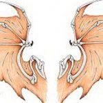 фото Эскизы тату летучая мышь от 11.04.2018 №078 - Sketches bat tattoo - tattoo-photo.ru