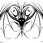 фото Эскизы тату летучая мышь от 11.04.2018 №082 - Sketches bat tattoo - tattoo-photo.ru