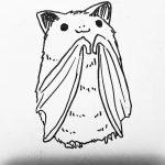фото Эскизы тату летучая мышь от 11.04.2018 №084 - Sketches bat tattoo - tattoo-photo.ru