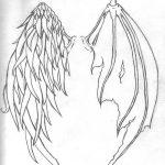 фото Эскизы тату летучая мышь от 11.04.2018 №085 - Sketches bat tattoo - tattoo-photo.ru