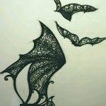 фото Эскизы тату летучая мышь от 11.04.2018 №086 - Sketches bat tattoo - tattoo-photo.ru
