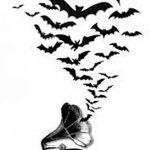 фото Эскизы тату летучая мышь от 11.04.2018 №088 - Sketches bat tattoo - tattoo-photo.ru