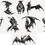 фото Эскизы тату летучая мышь от 11.04.2018 №098 - Sketches bat tattoo - tattoo-photo.ru
