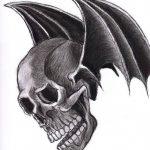 фото Эскизы тату летучая мышь от 11.04.2018 №099 - Sketches bat tattoo - tattoo-photo.ru
