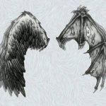 фото Эскизы тату летучая мышь от 11.04.2018 №101 - Sketches bat tattoo - tattoo-photo.ru