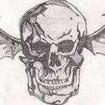 фото Эскизы тату летучая мышь от 11.04.2018 №104 - Sketches bat tattoo - tattoo-photo.ru