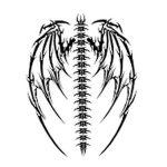 фото Эскизы тату летучая мышь от 11.04.2018 №107 - Sketches bat tattoo - tattoo-photo.ru