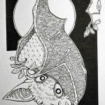 фото Эскизы тату летучая мышь от 11.04.2018 №112 - Sketches bat tattoo - tattoo-photo.ru