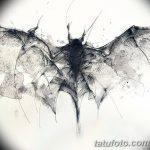 фото Эскизы тату летучая мышь от 11.04.2018 №114 - Sketches bat tattoo - tattoo-photo.ru