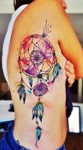 фото тату Ловец снов от 15.04.2018 №004 - tattoo Dream catcher - tattoo-photo.ru