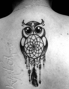 фото тату Ловец снов от 15.04.2018 №014 - tattoo Dream catcher - tattoo-photo.ru