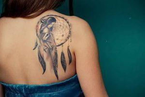 фото тату Ловец снов от 15.04.2018 №080 - tattoo Dream catcher - tattoo-photo.ru
