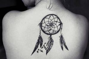 фото тату Ловец снов от 15.04.2018 №083 - tattoo Dream catcher - tattoo-photo.ru
