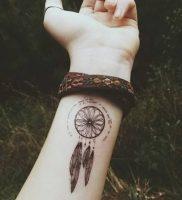 фото тату Ловец снов от 15.04.2018 №114 — tattoo Dream catcher — tattoo-photo.ru