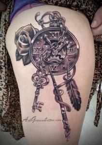 фото тату Ловец снов от 15.04.2018 №121 - tattoo Dream catcher - tattoo-photo.ru