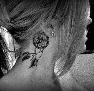 фото тату Ловец снов от 15.04.2018 №124 - tattoo Dream catcher - tattoo-photo.ru