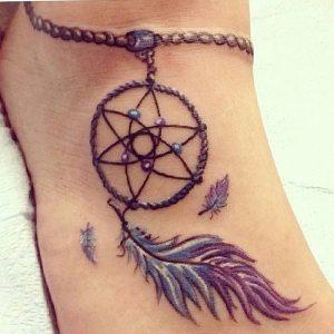 фото тату Ловец снов от 15.04.2018 №126 - tattoo Dream catcher - tattoo-photo.ru