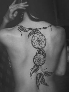 фото тату Ловец снов от 15.04.2018 №145 - tattoo Dream catcher - tattoo-photo.ru