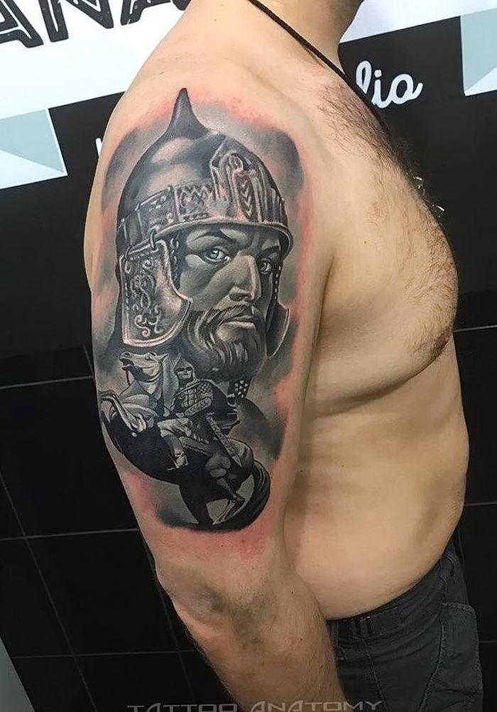 больше фото татуировок александр невский долорес легендарная школа