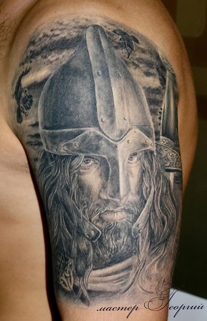 Татуировки у русских воинов древней руси