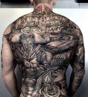 фото тату в стиле чикано от 08.04.2018 №001 — Chicano style tattoo — tattoo-photo.ru