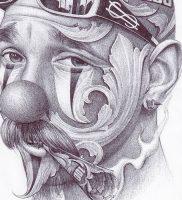 фото тату в стиле чикано от 08.04.2018 №005 — Chicano style tattoo — tattoo-photo.ru