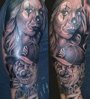 фото тату в стиле чикано от 08.04.2018 №110 — Chicano style tattoo — tattoo-photo.ru
