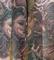 фото тату в стиле чикано от 08.04.2018 №111 — Chicano style tattoo — tattoo-photo.ru